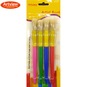 Kids Brushes Set With Natural Bristle